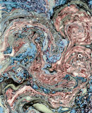 4 6 marmorerar textur Royaltyfria Bilder