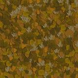 4 коричневых листь стоковая фотография