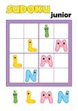 4 82 gry sudoku Zdjęcie Stock