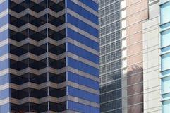 4 abstrakt modellfönster Royaltyfri Fotografi