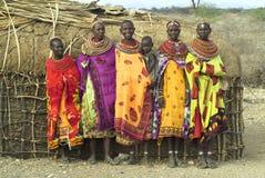 4 afrikanska folk Royaltyfria Foton