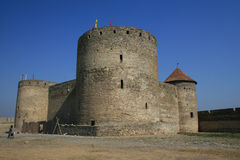 #4.Akkerman mittelalterliches Schloss. Stockbilder