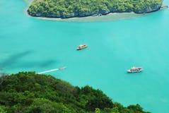 4 angthong海岛ko mu 库存图片