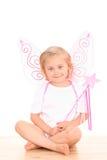 4 anni di angelo Fotografie Stock Libere da Diritti