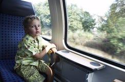 4 anni svegli di ragazzo anziano Fotografia Stock Libera da Diritti