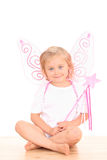 4 anos de anjo velho Fotos de Stock Royalty Free