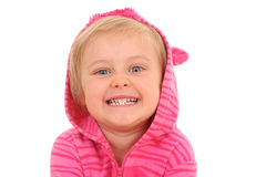 4 anos de menina idosa Imagem de Stock Royalty Free