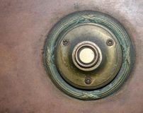 4 antykami dzwonu drzwi Zdjęcie Stock