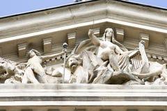 4 arhitecture详细资料 免版税图库摄影