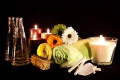 4 aromata serii terapia Zdjęcia Stock