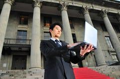4 asian executive savvy Стоковое Изображение