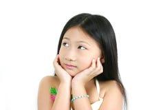 4 asiatiska barnbarn Arkivbilder