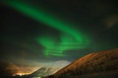 4 aurora polaris Στοκ φωτογραφία με δικαίωμα ελεύθερης χρήσης