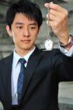 4 azjatykciego mężczyzna kieszeniowy zegarek Obraz Stock