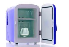 4 błękit fridge miniatura Zdjęcie Royalty Free