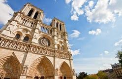 4 błękit katedralny paniusi notre niebo Zdjęcie Royalty Free