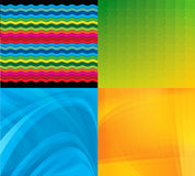 4  backgrounds. For different use Royalty Free Stock Photography