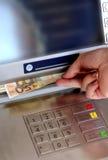4 bankomat Obraz Stock