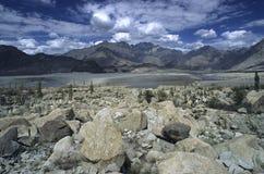 4 berg pakistan Arkivbild