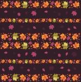 4 bezszwowy jesień deseniowego Zdjęcie Royalty Free
