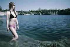 4 bikini lato Fotografia Royalty Free