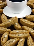 4 biscotti 免版税库存图片