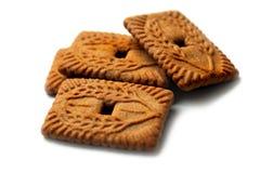 4 biscuits Photo libre de droits