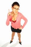 4 biznesowej seksowną kobietę obrazy stock