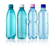 4 bottiglie Fotografia Stock Libera da Diritti