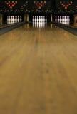4 bowla lanes Arkivfoton