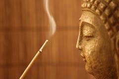 4 buddha rök Arkivfoton