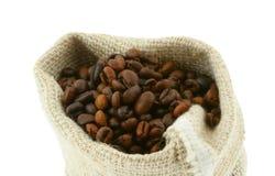 4 burlap worek kawy Obraz Stock