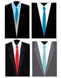 4 business suit Royalty Free Stock Photography