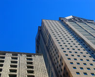 4 byggnader royaltyfria bilder