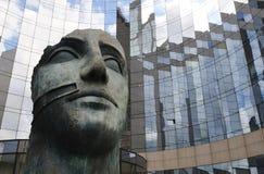 4 byggnader moderna paris Royaltyfria Bilder