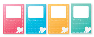 4 card Royalty Free Stock Images