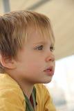 4 chłopiec stary rok zdjęcia royalty free