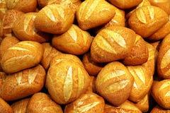 4 chlebowej rolki Zdjęcie Royalty Free