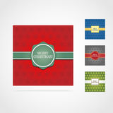 4 christmas card Stock Photography