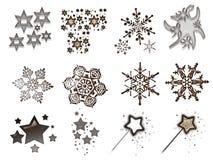 4 christmas stuff Στοκ φωτογραφίες με δικαίωμα ελεύθερης χρήσης