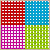 4 colored lines seamless pattern Royalty Free Stock Photography