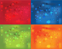 4 Colorful background Stock Image