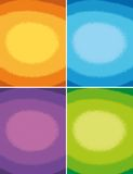 4 colorful backgrounds Royalty Free Stock Image