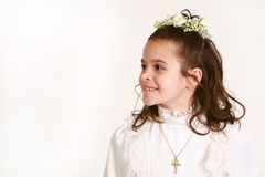 4 communion premier Photo stock