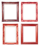 4 copper frame Stock Images