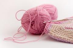 4 crochet Fotografia Stock