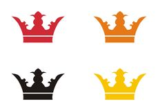 4 crowns Royalty Free Stock Photo