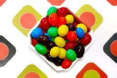 4 cukierków czekolada Obrazy Royalty Free