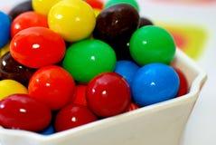 4 cukierków czekolada Fotografia Royalty Free