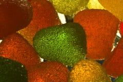 4 cukierków owoc Fotografia Stock